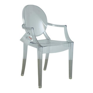 Louis XVI Ghost Chairs by Philippe Starck for Kartell, Unused With Original Tags, Four (4) Available