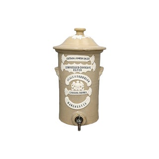 Antique English Small Water Filter For Sale
