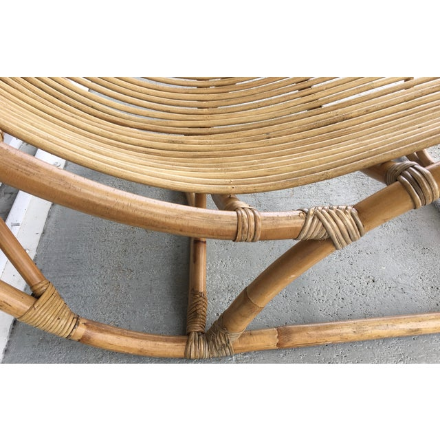 Bamboo Franco Albini Bamboo Chaise Longue For Sale - Image 7 of 7