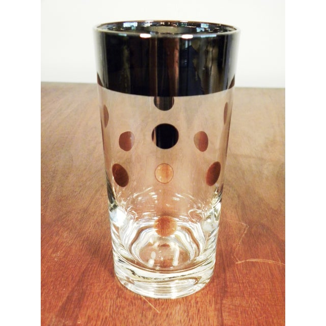 Dorothy Thorpe Silver Dot Tall Glasses - Set of 6 - Image 7 of 7