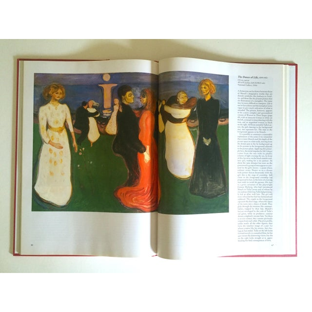 """"""" Munch """" First Edition Vintage 1990 Expressionist Hardcover Art Book For Sale - Image 9 of 13"""