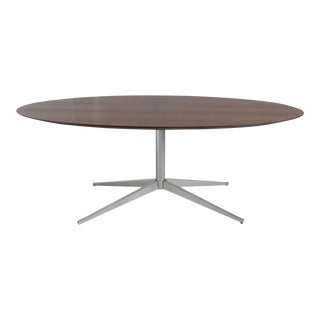 Florence Knoll Rosewood Elliptical Dining or Conference Table