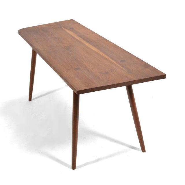 Wood Robert Lovett Walnut Studio Craft Table/ Desk For Sale - Image 7 of 11