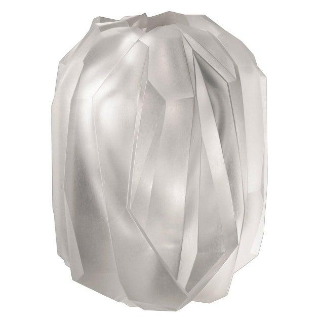 "Contemporary ""Gletscher"" Vase by Sebastian Menschhorn For Sale - Image 3 of 3"