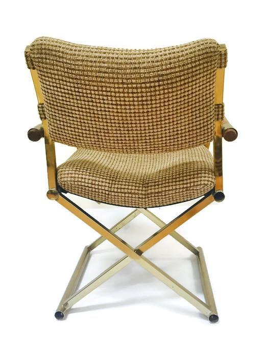 Mid Century Modern Directors Chair Desk Chair Safari Campaign Chair   Image  4 Of 11
