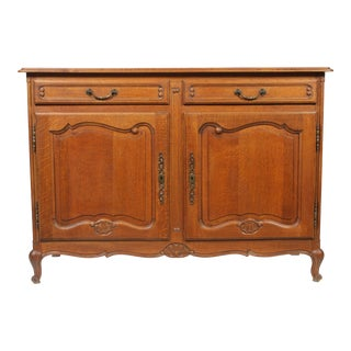 Mid-Century Louis XV-Style Buffet For Sale