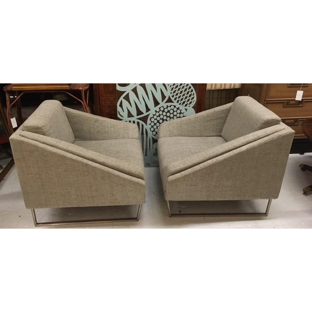 Contemporary Modern Club Chairs