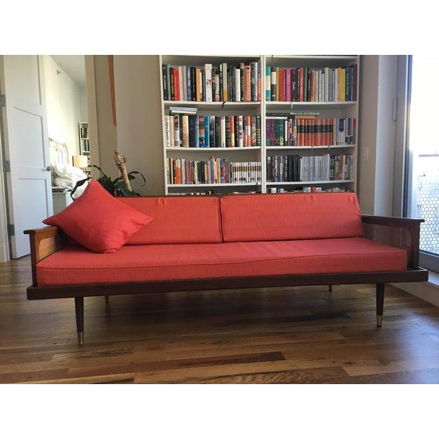 Radio Weave Danish Modern Sofa - Image 2 of 5