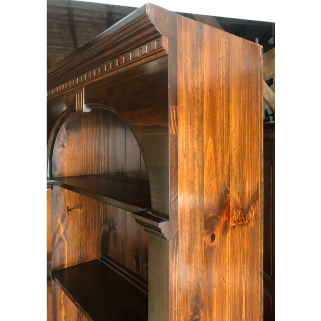 Ethan Allen Ethan Allen Old Tavern Pine Bookcase For Sale - Image 4 of 10