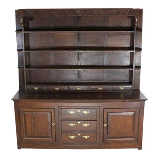 Incredible 17th Century Display Cabinet, Hand Carved For Sale