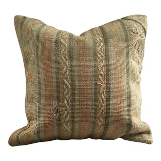 Vintage Kilim Pillow Cover For Sale