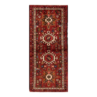 "Apadana - Vintage Persian Heriz Rug, 2'10"" x 6'6"""