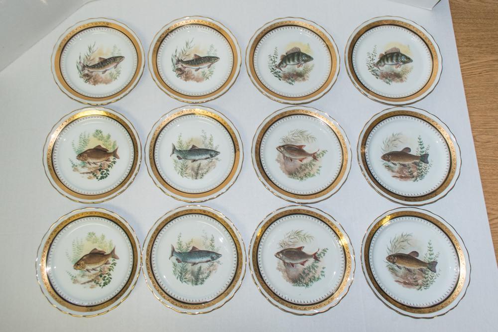 Vintage French Porcelain Dinner Set - Set of 42 - Image 3 of 10  sc 1 st  Chairish & Vintage French Porcelain Dinner Set - Set of 42 | Chairish