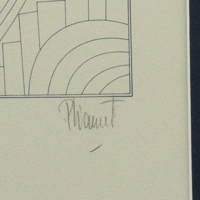"1980s Patrick Fionnet After Pico ""Folies Bergere"" Facade Art Deco Lithograph For Sale - Image 5 of 11"