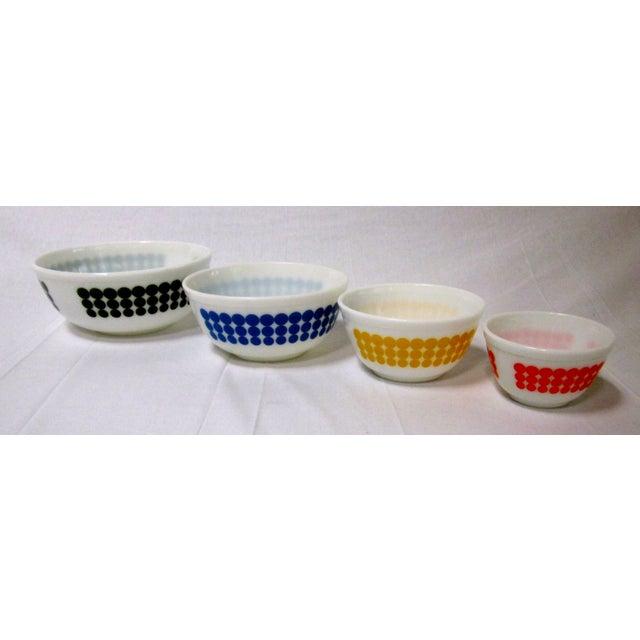 Pyrex Dots Mixing Bowls - Set of 4 - Image 2 of 7