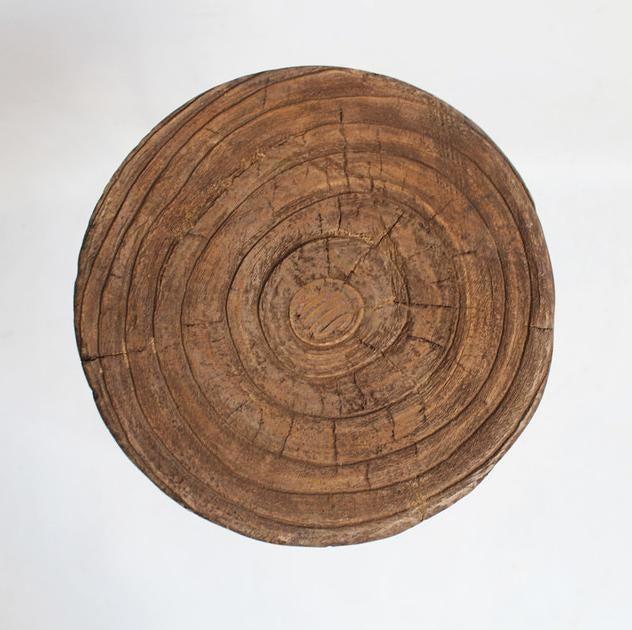 Round Stump Bar Stool Chairish