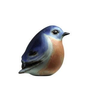 Andersen Design Eastern Bluebird Figurine For Sale