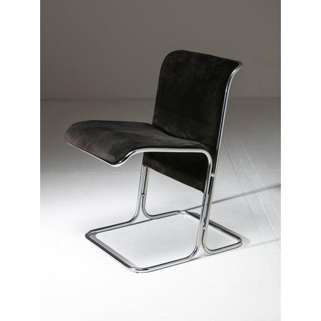 """Modern Set of 6 """"Calla"""" Chairs by Antonio Ari Colombo for Arflex For Sale - Image 3 of 6"""