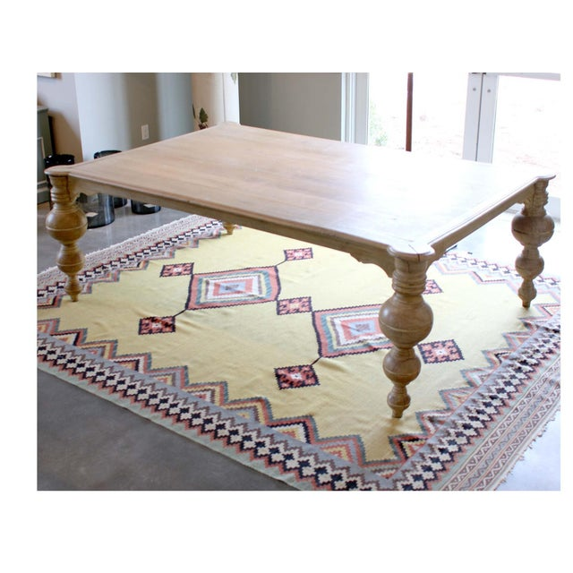 """Antique Egyptian """"Boule"""" Dining Table For Sale - Image 4 of 4"""