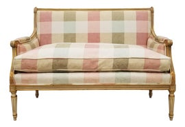 Image of Cream Settees