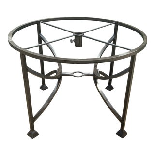 Modern Patio Round Dining Base For Sale