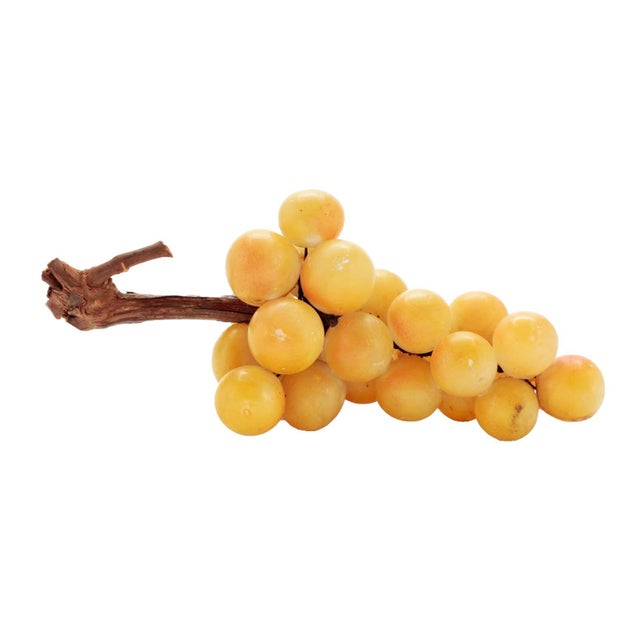 From my personal collection of over 100 alabaster grapes from Italy is this excellent example. Popularly brought back to...