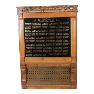 Antique Annunciator Call Box For Sale