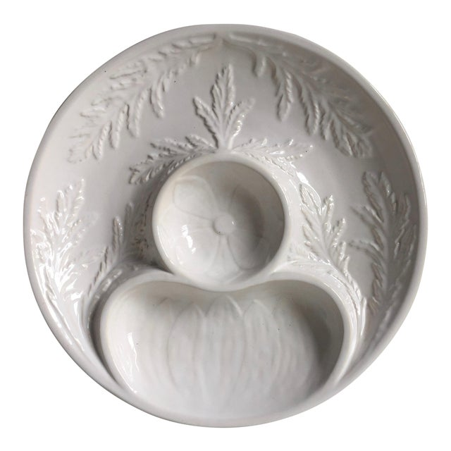 "Bordallo Pinheiro 11""Majolica Artichoke Plate For Sale"