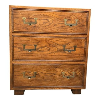 1970s Campaign Henredon Three Drawer Chest