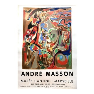 Andre Masson Musee Cantini Poster Mourlot, 1968