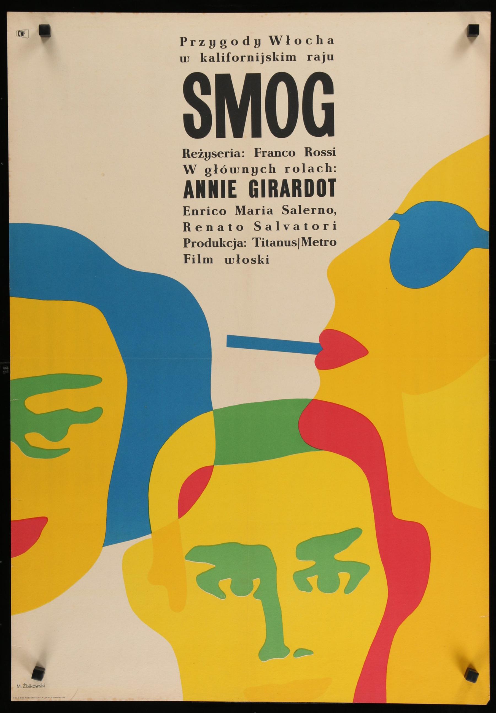 Quot Smog Quot 1967 Original Polish Film Poster Chairish
