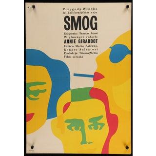 """""""Smog"""" 1967 Original Polish Film Poster For Sale"""