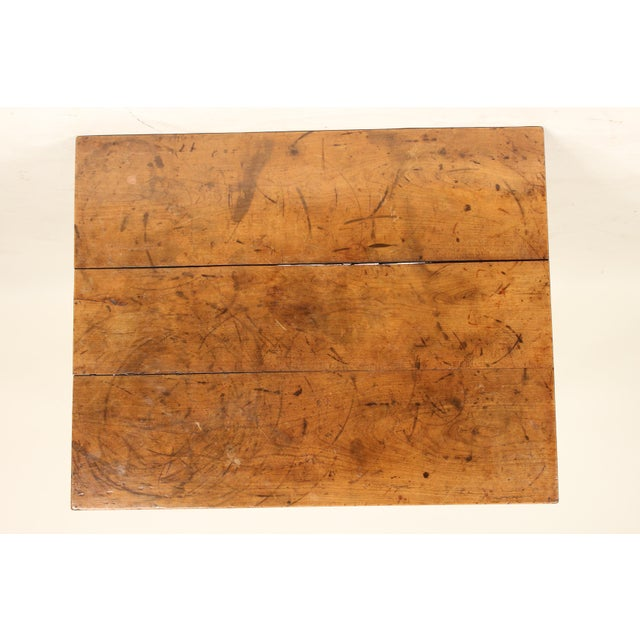 19th Century Neoclassical Fruit Wood Occasional Table For Sale - Image 9 of 12