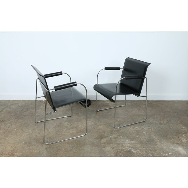 Arrben Italy Arm Chairs - Set of 4 - Image 11 of 11