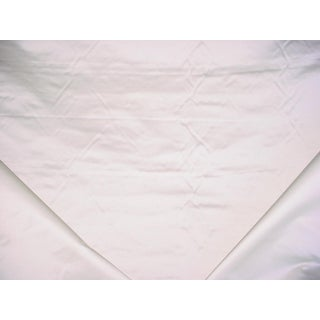 Ralph Lauren Satin Pearl Silk Drapery Upholstery Fabric - 2 Yards