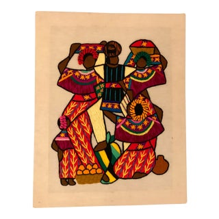 African Themed String Art For Sale
