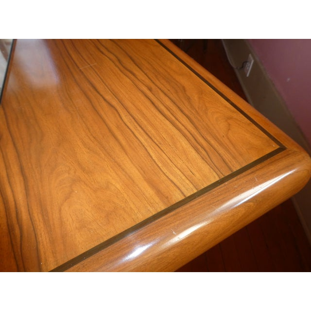 Dyrlund Rosewood Executive Desk - Image 5 of 10