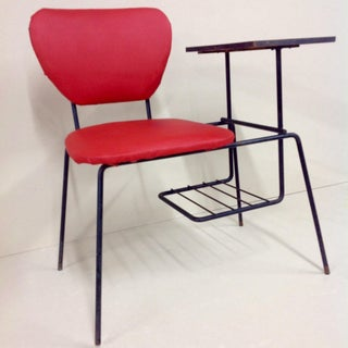 * Final Markdown * French Mid-Century Wrought Iron Phone Desk Preview
