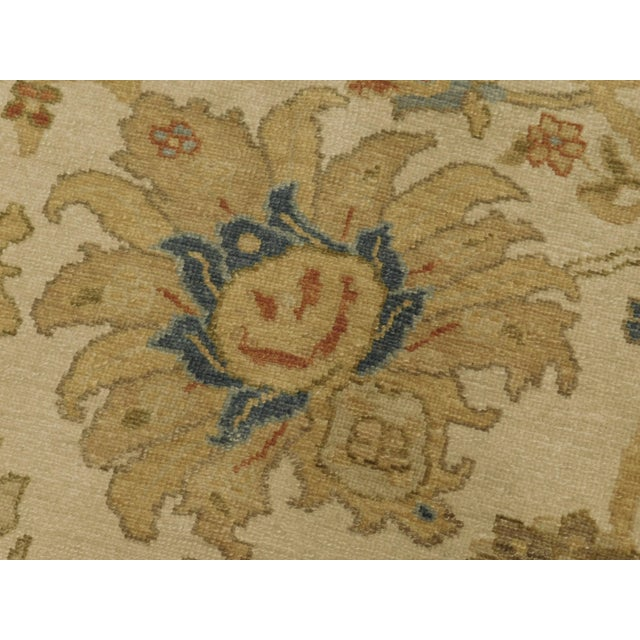 """Textile Chinese Ziegler Hand Knotted Rug - 8'2""""x 10'4"""" For Sale - Image 7 of 8"""
