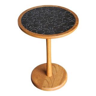1960s Mid-Century Modern Gordon Martz Ceramic Tile-Top Occasional Table For Sale