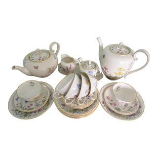 Lunch Tea & Coffee Service for Six by Krautheim Germany - 23 Piece Set For Sale