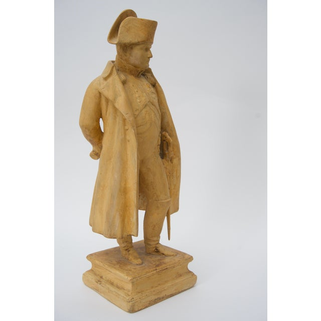 Early 20th Century Antique 19th C. Figure of Napoleon Bonaparte From London Dealer For Sale - Image 5 of 6