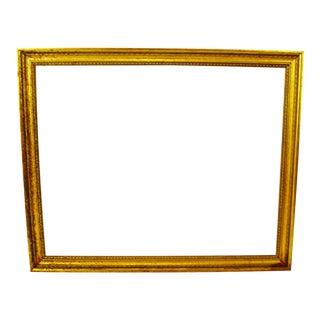 Vintage Gold Gilt Wood Picture Frame 34 x 28