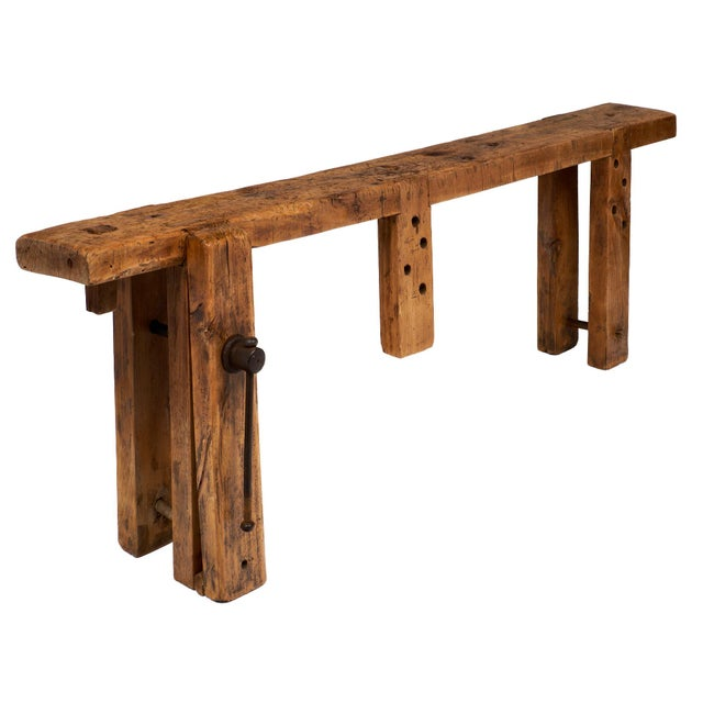 French Antique Workbench For Sale - Image 10 of 10