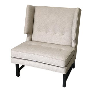 Edward Wormley Wingback Lounge Chair