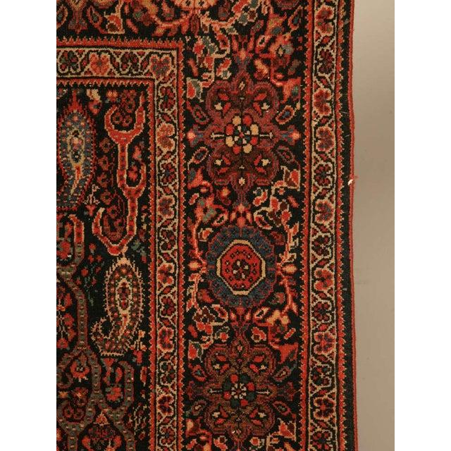 Antique Persian Bidjar Rug - 4′ × 6′4″ For Sale - Image 9 of 10