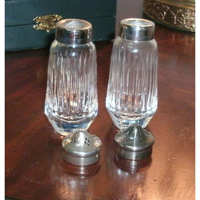 Metal Gucci Salt & Pepper Shakers Set in Formal Presentation Box - a Pair For Sale - Image 7 of 12