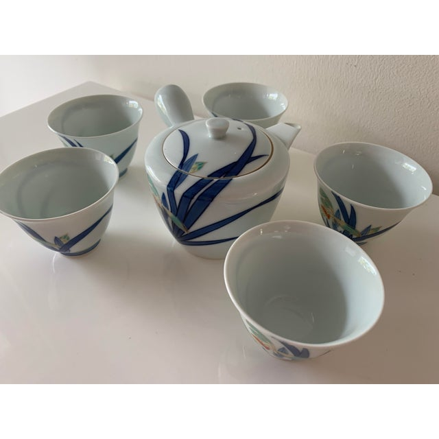 Japanese Contemporary Imaizumi Imaemon Tea Set - 6 Pieces For Sale - Image 4 of 12