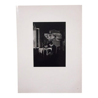 "Ltd. Ed. Vintage Photograph By Alfred Stieglitz (USA 1864-1946)-""Sunlight And Shadows-Paula"""