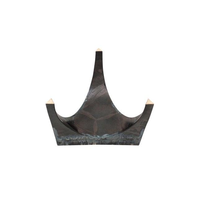 Sculptural Ceramic Stool For Sale - Image 10 of 11